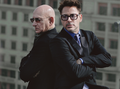 rob and ben  - iron-man-3 photo
