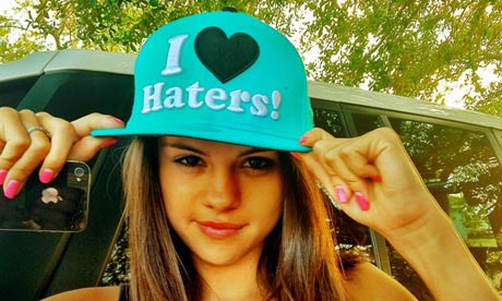 selena shuts hater's mouths