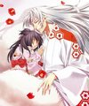 sesshomaru and Rin - inuyasha fan art