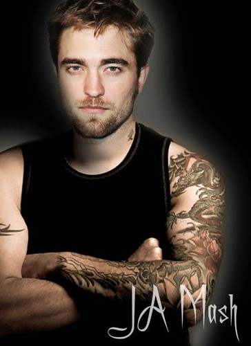 Robert Pattinson fond d'écran entitled sexy Robert manips