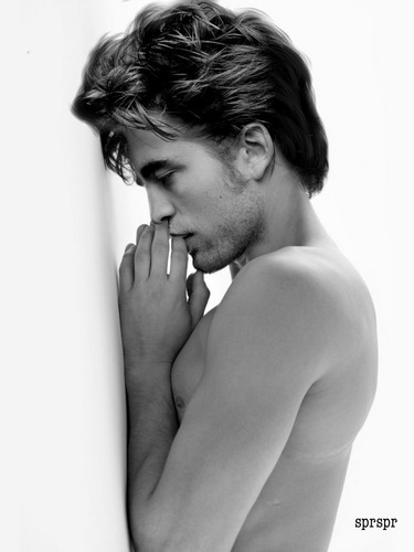 Robert Pattinson wallpaper with skin entitled sexy Robert manips