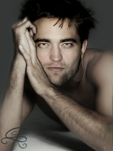 Robert Pattinson karatasi la kupamba ukuta possibly with skin and a portrait entitled sexy Robert manips