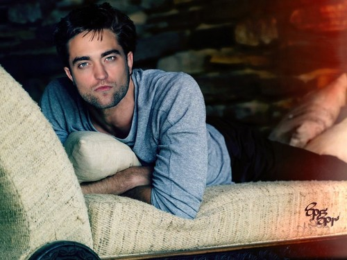 Robert Pattinson kertas dinding titled sexy Robert manips