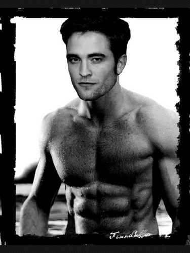 Robert Pattinson karatasi la kupamba ukuta containing a hunk entitled sexy Robert manips