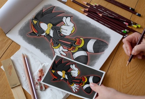 shadow drawing