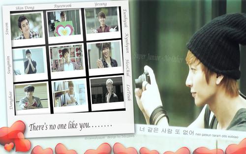 スーパージュニア 壁紙 probably containing a newspaper, a sign, and a bouquet entitled suju no other
