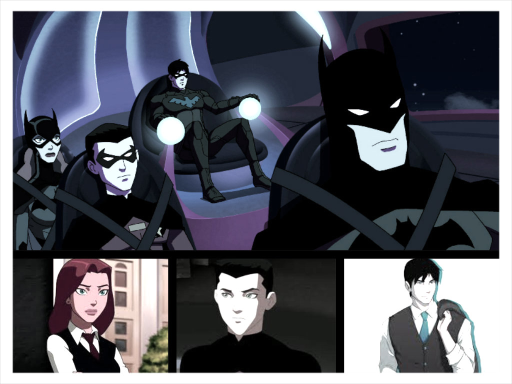 Young Justice the bat familyYoung Justice Bat Family