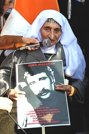 turkish missing person cemil kırkbayır since 1980