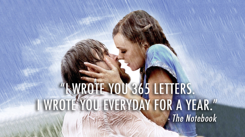 The Notebook kertas dinding with a portrait titled <3