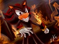 .:Black Hearted Evil:. - shadow-the-hedgehog photo