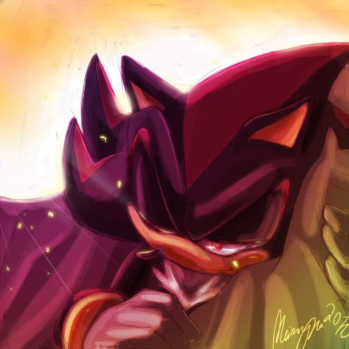 Shadow The Hedgehog wallpaper probably with a bouquet and a rose called .:Good Morning:.