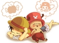 *Luffy & chopper*