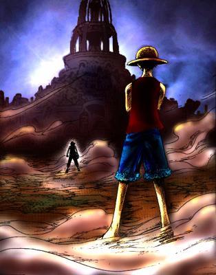 *Luffy v/s ussop*