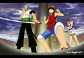 *Zoro*Luffy*Nami* - monkey-d-luffy photo