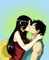 *Luffy x Hancock* - monkey-d-luffy photo
