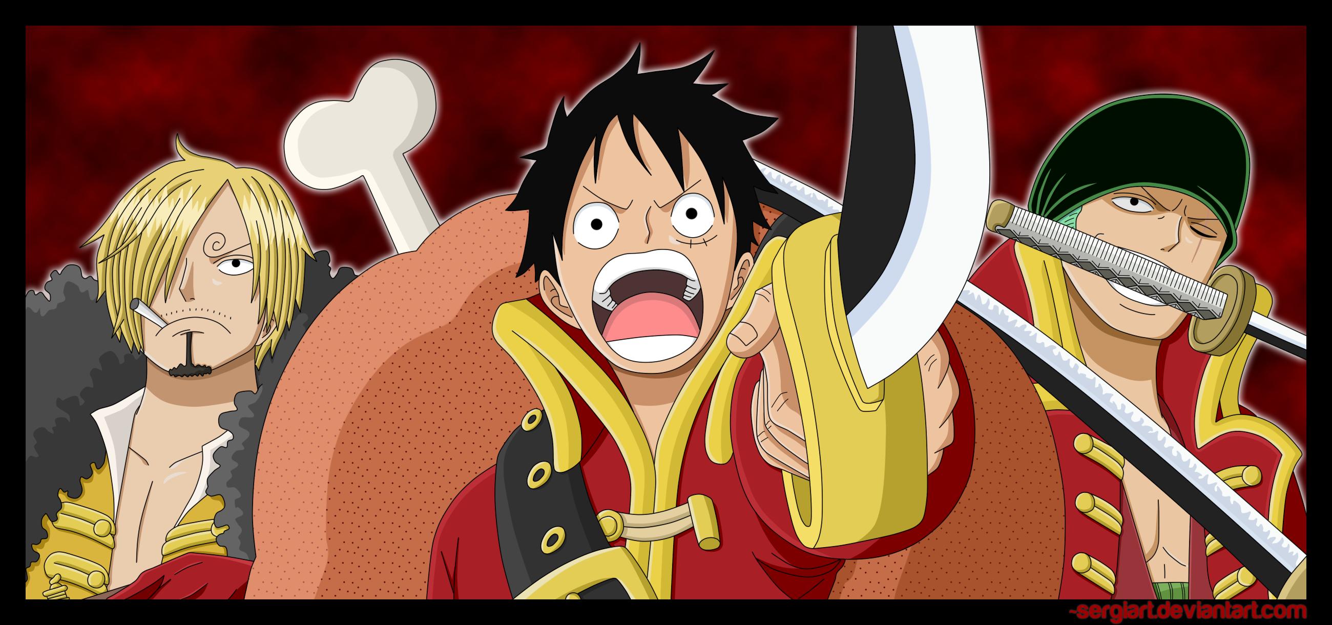 Monkey D Luffy Imagens Sanji Luffy Zoro Hd Wallpaper And