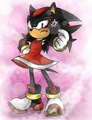 .:Shadow's New Outfit:. - shadow-the-hedgehog photo