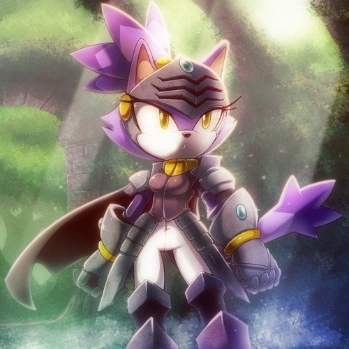 Blaze the Cat wallpaper titled .:Sir Percival:.