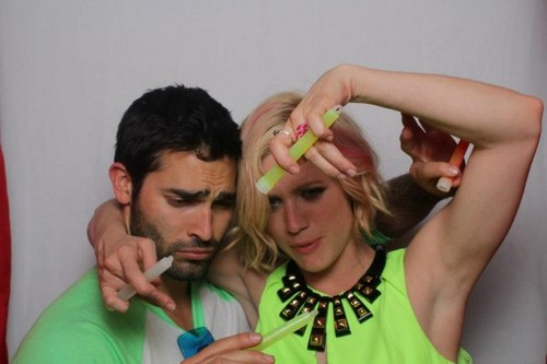 tyler hoechlin wallpaper entitled ° Tyler Hoechlin ♥ Brittany Snow °