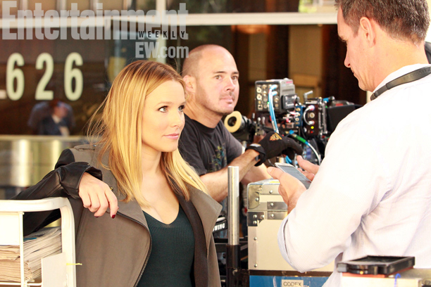 'Veronica Mars' movie first official bức ảnh