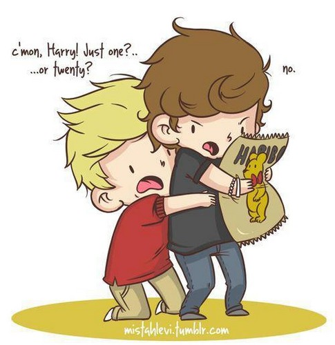 1D cartoons is soo damn cute ^__^
