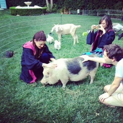 26.June.2013 - Having a Harry Potter Themed Party for her 20th Birthday with her friends&family
