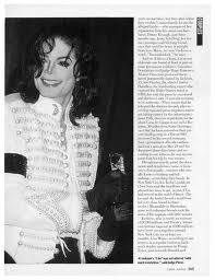 A Magazine articulo Pertaining To Michael