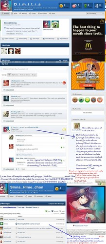A troll & bully - July 1st impersonating someone for malicious intent! O_O
