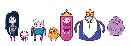 Adventure Time With Finn and Jake wallpaper entitled Adventure Time Chibi Characters! #1