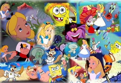 Alice and Spongebob- Wonderlnad and Bikini Bottom Chronicles