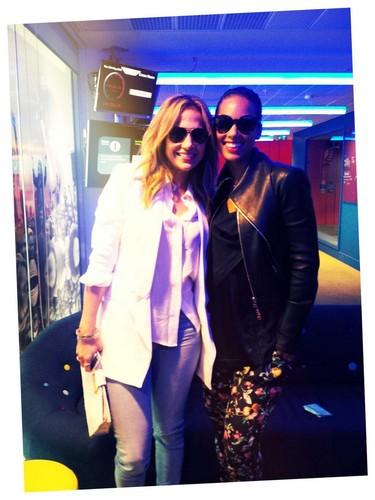 Alicia Keys & JLo