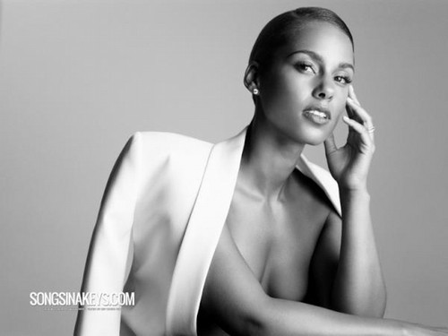 Alicia Keys wallpaper probably with a portrait titled Alicia