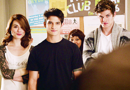 "Allison, Scott, & Isaac still from 3x04: ""Unleashed"""