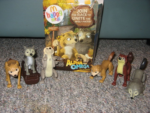 Alpha and Omega toys !
