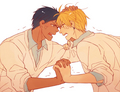 Angel loves - yaoi photo