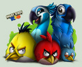 Angry Birds Rio Art