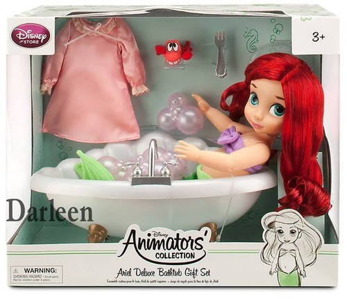Animators' Collection Ariel Deluxe Bathtub Giftset