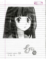 Anime drawings ^ ^ - drawing photo
