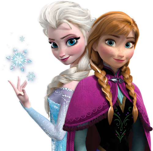 princesas de disney fondo de pantalla entitled Anna and Elsa