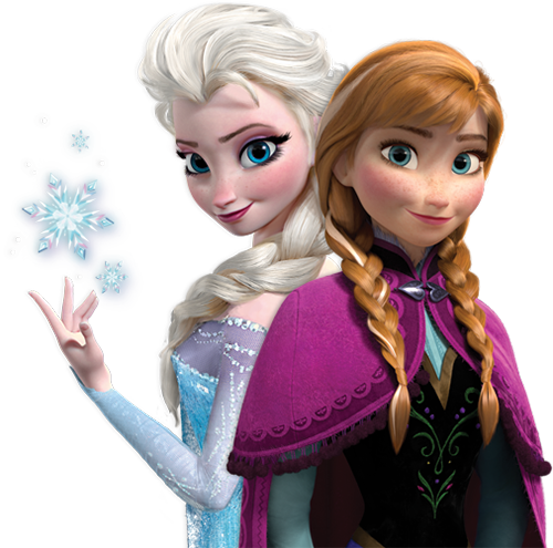 Anna and her sister Elsa