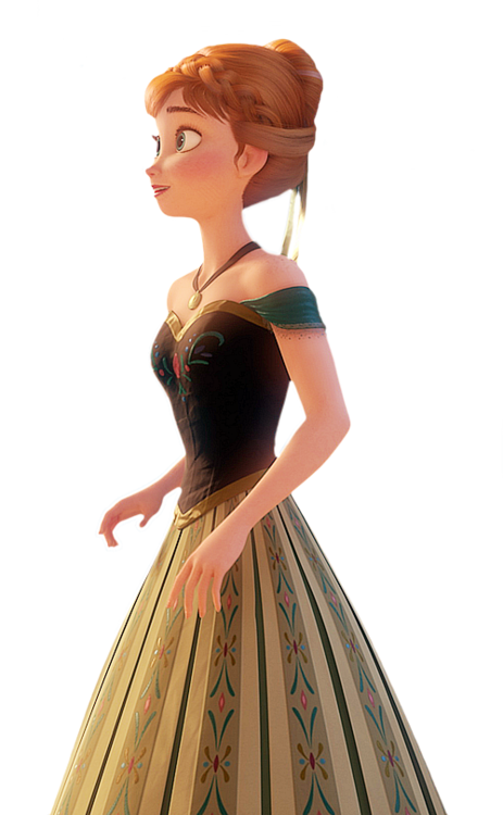 Anna in her green dress frozen photo 34881588 fanpop - Robe de mariee bustier transparent ...