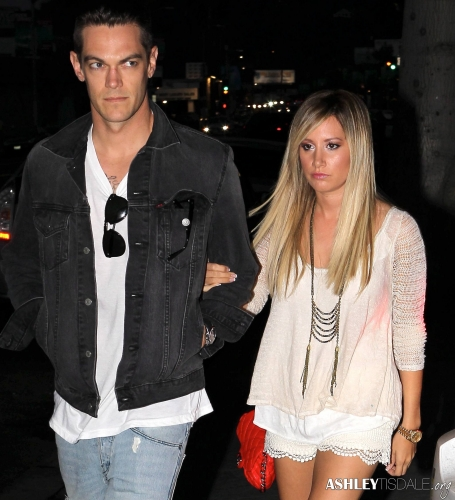 Ashley & Chris out in Studio City