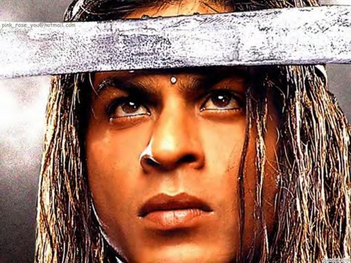 Shahrukh Khan wallpaper possibly containing a boater titled Asoka wallpaper