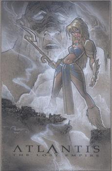 Atlantis The Lost Empire Art par John Alvin