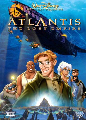 Atlantis The হারিয়ে গেছে Empire Poster