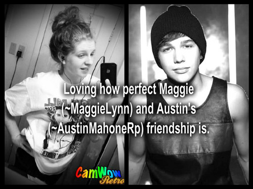 Austin Mahone wallpaper entitled Austin and Maggie