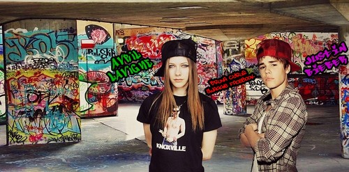 Avril Lavigne & Justin Bieber - Cover's Facebook