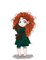Baby Merida  - merida fan art