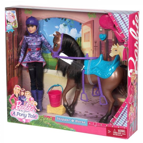 Barbie Her Siter in a poney Tale poupées