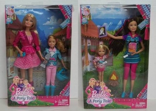 Barbie Her Siter in a pony Tale bambole